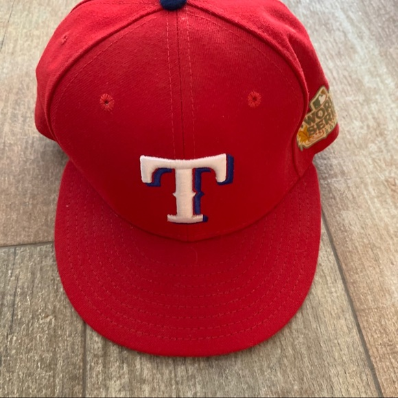 New Era TX Rangers WS S- 7-1/2